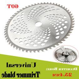 "10"" Universal 60t Carbide Blade Tip brush Cutter Trimmer Bla"