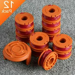 12 Pack Replacement Spool Line String Trimmer WA0010 Weed Ea