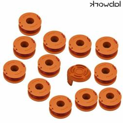 13 Pack For Worx Replacement Spool Line String Trimmer WA001