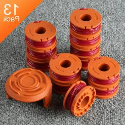 13 Pack Replacement Spool Line String Trimmer WA0010 Weed Ea