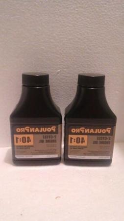 2 Pack Poulan Weed Eater Easy Mix Engine Oil 40:1 for 2-Stro
