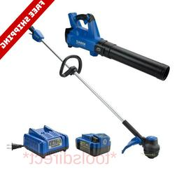 Kobalt 2-Piece 24-volt Cordless Power Equipment Combo Kit Bl
