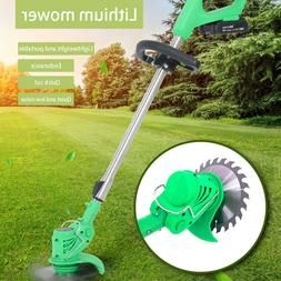 21V Li-ion Cordless Powerful Electric Grass Weeds Lawn Trimm