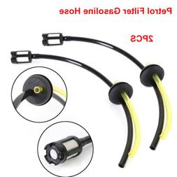 2PCS Replacement Fuel Filter Line Hose Pipe For Strimmer Wee
