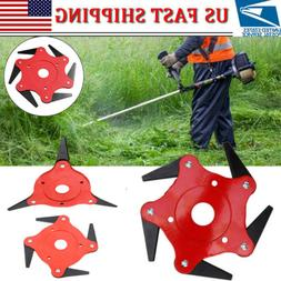 3/4/5/6 Tooth Blades Razors Lawn Mower Weed Eater Trimmer He