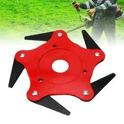 3-6 Steel Outdoor Trimmer Head Blades Razors Lawn Mower Gras