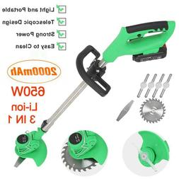 3 IN 1 Powerful Li-ion Handheld Cordless Electric Lawn Trimm