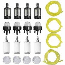 4 Sizes Tygon Fuel Line Filter Kit For Poulan Weedeater Chai