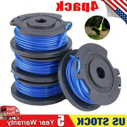 4x Spool Line For Greenworks Weed Eater 29092 .065'' String