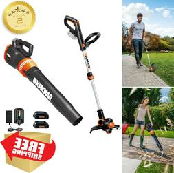 WORX 5-Piece Cordless Power Equipment Combo Kit Weedeater Bl