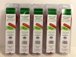 5x Weed Eater Heavy-Duty Crimped Replacement Trimmer Line .1