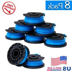 A 8+1PCS Weed Eater String Trimmer Replacement Spool for Ryo