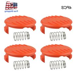 Black+Decker Replacement Spool Cap And Spring _Parts For Afs