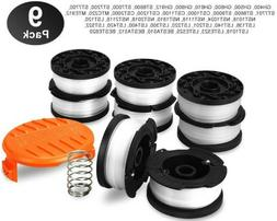 String Trimmer Replacement Line Spool Weed Eater Edger 9 Pac