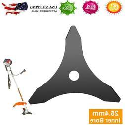 Brush Cutter Blade Black 3T Manganese Steel Mower Teeth Weed