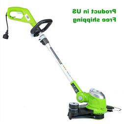 Greenworks Corded Electric 15 Inch String Trimmer Edger Weed