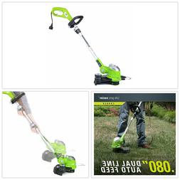 Corded String Trimmer 15 inch 5.5 Amp Electric Edger Weed Ea