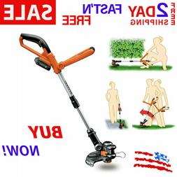 Cordless Lithium String Trimmer Edger 20V Weed Eater High Po