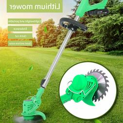 Cordless Powerful Electric Grass Weeds Lawn Trimmer Edger We