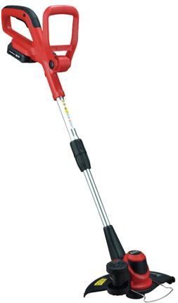 cordless string trimmer and edger with battery