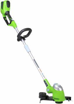 Cordless String Trimmer Weed Eater Grass Edger Wacker 40V To