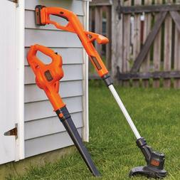 Cordless Weed Eater Battery Powered Leaf Blower Combo Kit Ya