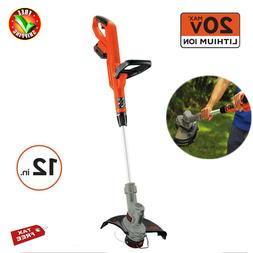 cordless weed eater grass string trimmer edger