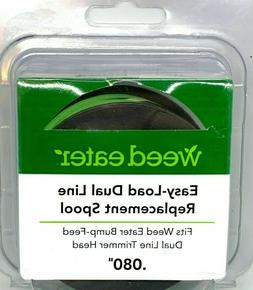 Weed Eater Easy Load Dual Line Replacement Spool  New **FREE