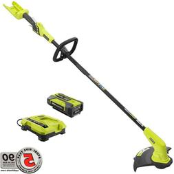 Electric Weedeater Wacker Cordless String Trimmer Clean Yard