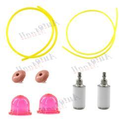 Fuel Filter Line Hose Primer Bulb Kit for Poulan 530058709 C