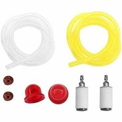 Fuel LINE Filter Primer Bulb Check Valve For WEEDEATER Feath
