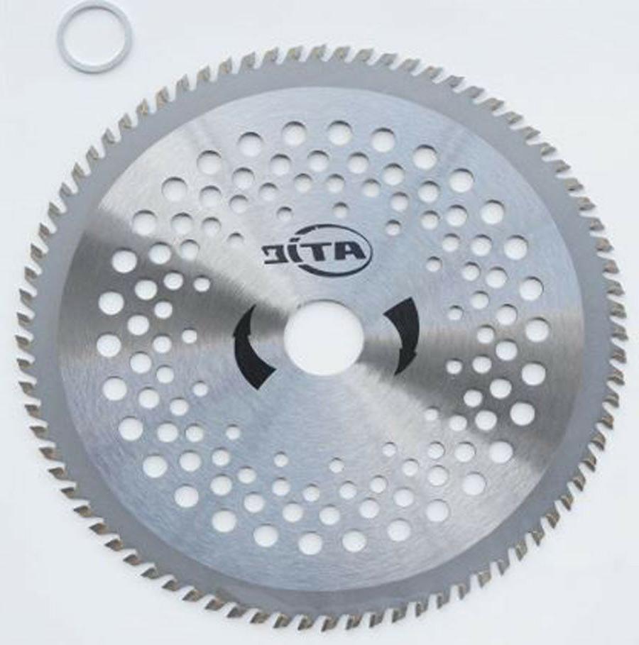 "10"" 100Teeth Universal Carbide Tip Brush Cutter, Garden Trim"