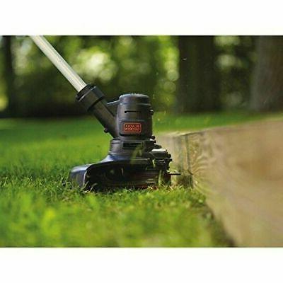 13in Black+Decker Electric String Trimmer Weed Wacker Lawn