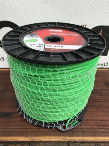 21-233 Oregon Trimmer Line .118 Gauge LB Spool Round Gator Weed Eater
