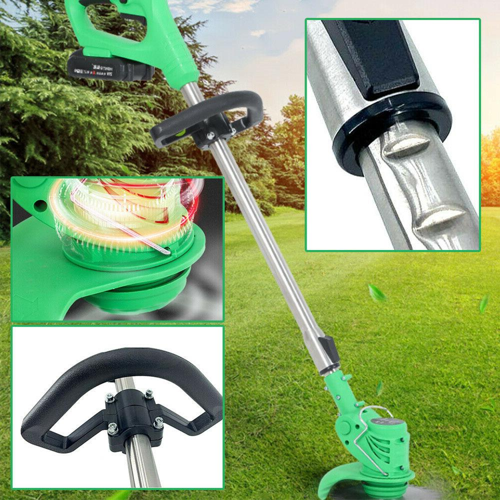 21V Powerful Electric Lawn Trimmer