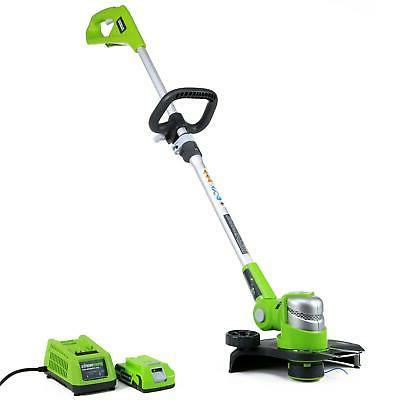 24v electric cordless string trimmer weed eater