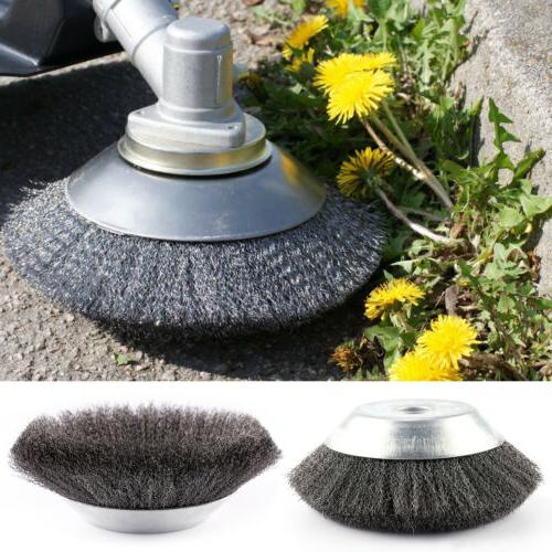 25 4x200mm weed brush steel wire grout