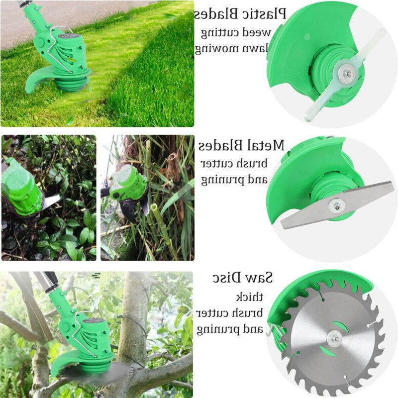 3 Powerful Li-ion Handheld Lawn Eater