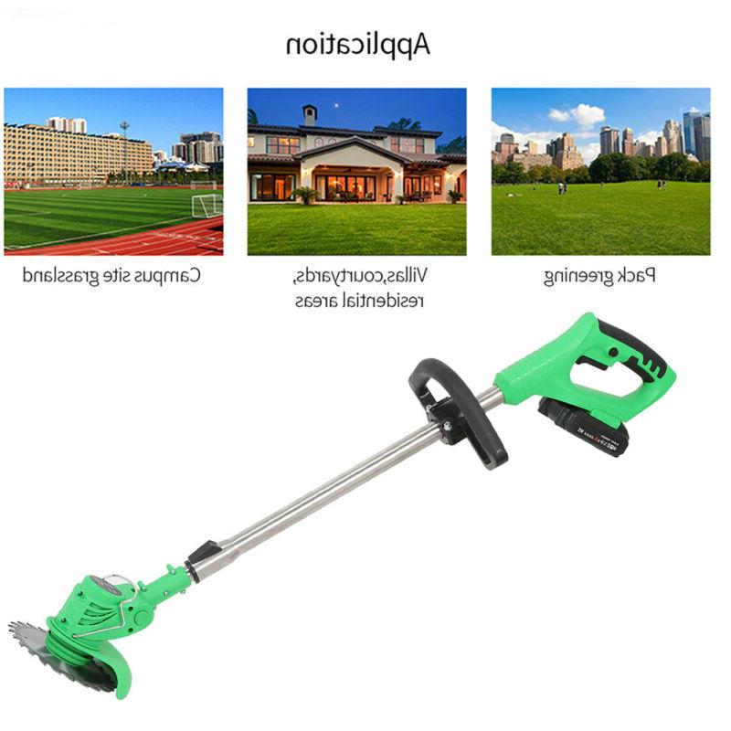 3 Li-ion Handheld Electric Lawn Trimmer Edger Weed Eater