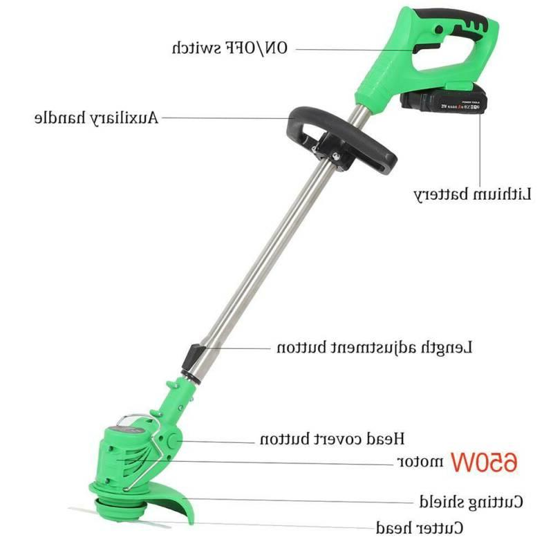 3 Li-ion Cordless Lawn Trimmer Eater