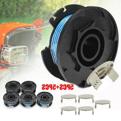 5pcs String Trimmer Replace Spools Line Weed Eater For Ryobi