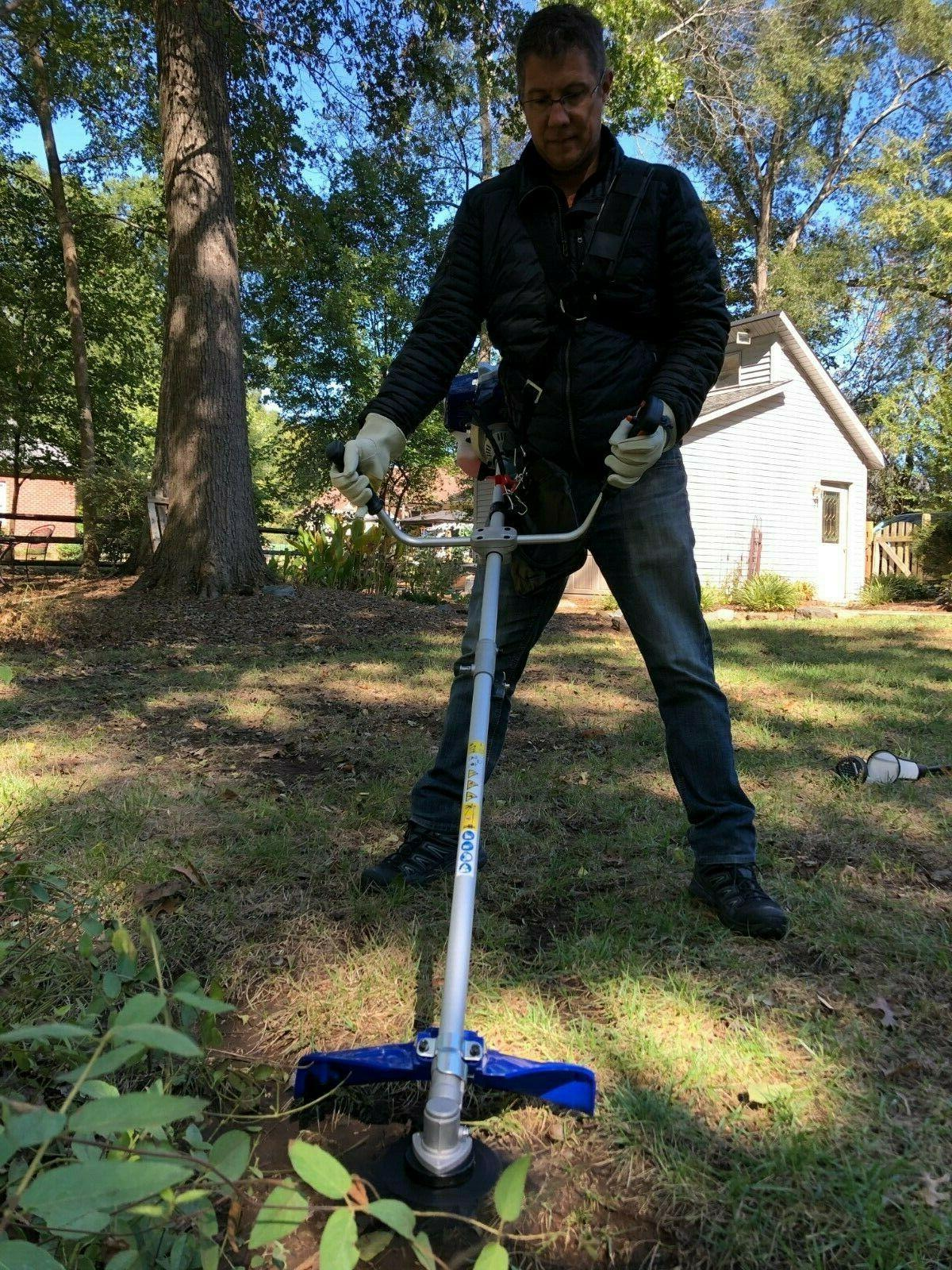 52cc 2 in Straight Brush Cutter String Trimmer