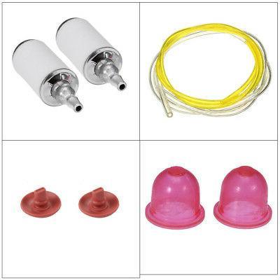 Fuel Filter Line Hose Primer Bulb For Poulan Craftsman Weed