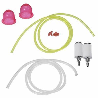 Primer Bulb Fuel Filter Line Hose Fit Poulan Craftsman Weed