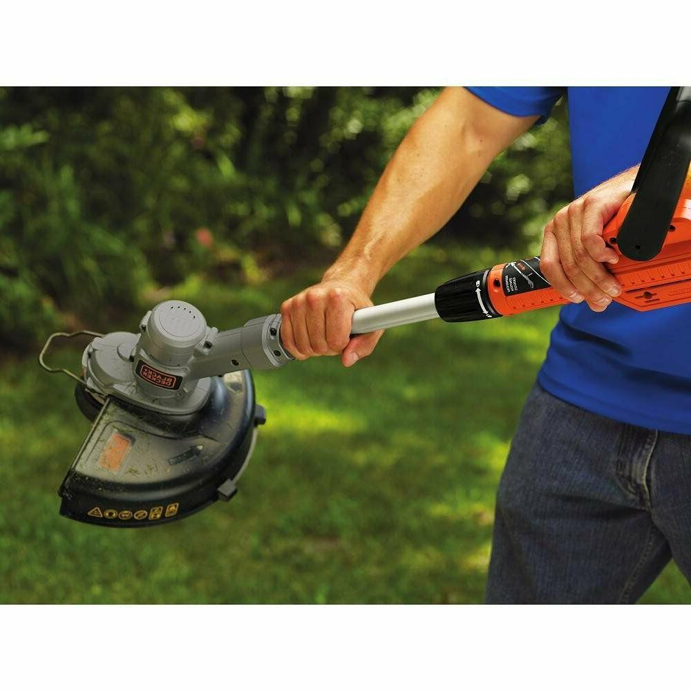 "Cordless Weed String Trimmer Edger 12"" Lawn and Decker"