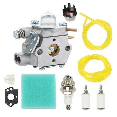 Carburetor Kit For Poulan Weed Eater PL25 Type TE450CXL TE50