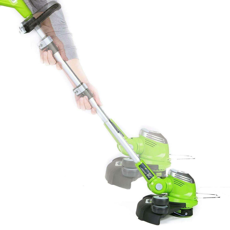 GreenWorks 15 Trimmer Edger Weed