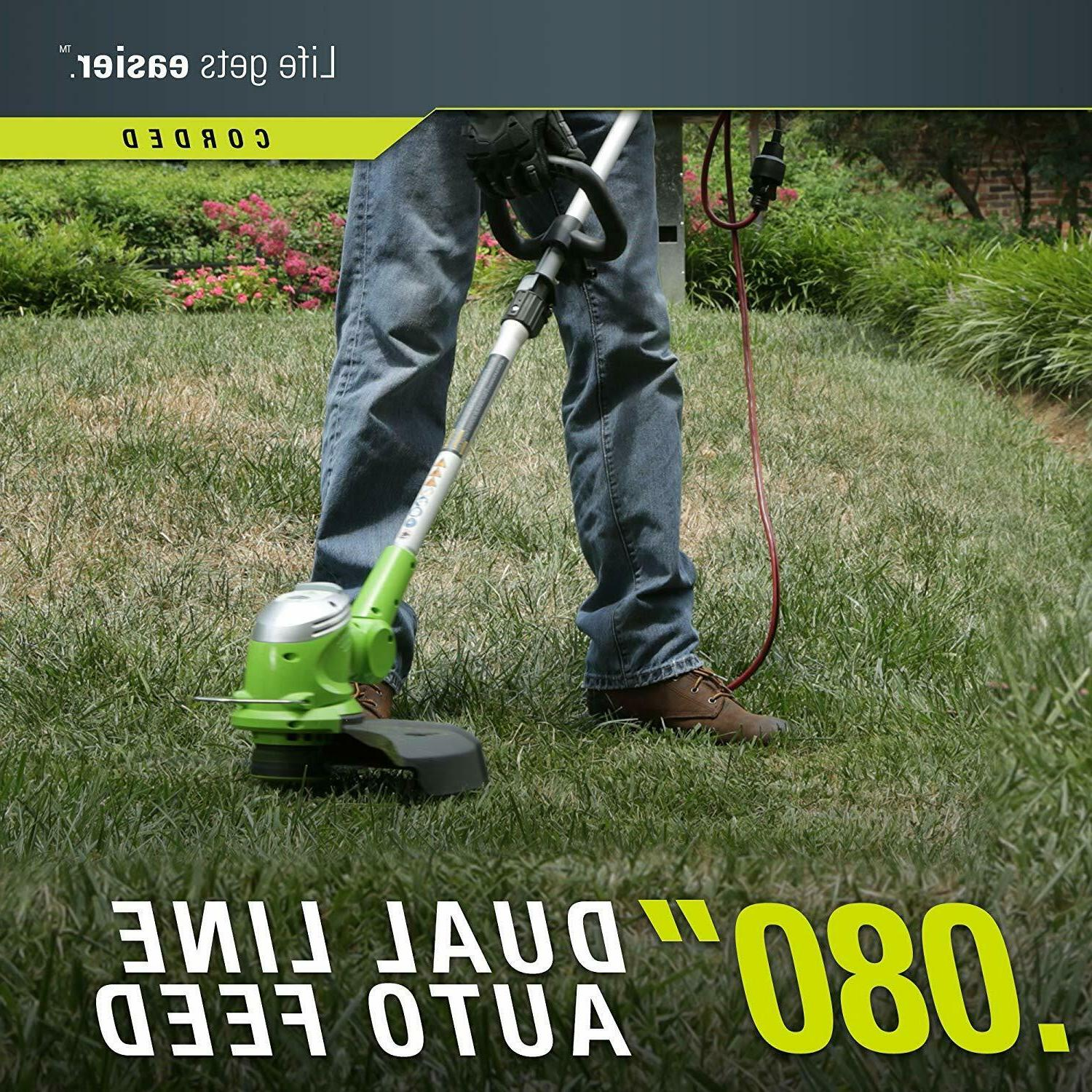 GreenWorks Corded Electric Trimmer Edger Grass