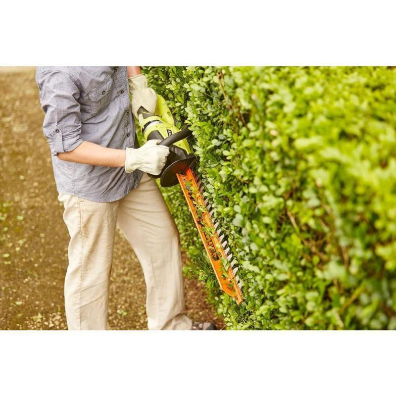 Cordless Hedge 22 in. Blades Lawn TOOL ONLY