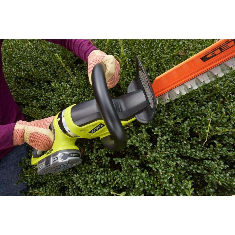 Cordless Hedge in. 18V Lithium-Ion Dual-Action Blades